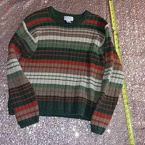 Multicolor Christopher and Banks sweater size medi